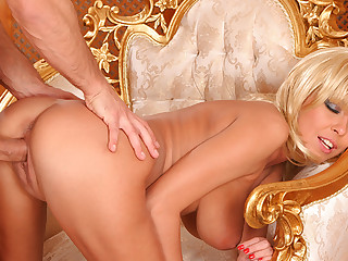 Fucking His Big Breasted Hot Blonde Wife