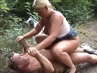 Great Outdoor Fuck With German Slut