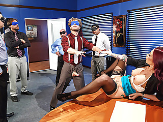Brazzers - Team Building Sexcercise