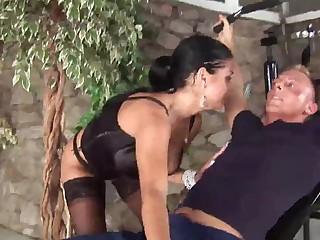 busty Cory Everson loves tit fucking