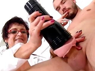 Big naturals cougar clinic fetish feat. doctor Greta