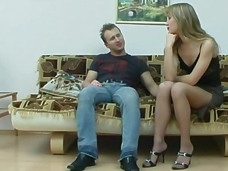 Diana and Adrian frisky anal pantyhose movie