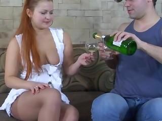 Megan and Jack cool anal pantyhose video