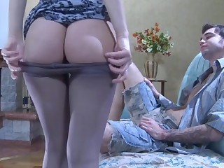 Inessa and Marcus sexy anal pantyhose movie