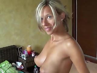 Amazing Big Natural Tits HOT Blonde Loves Fucking