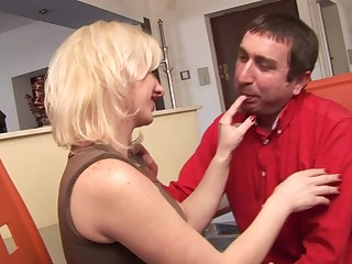 This hot MILF loves fucking and sucking cock