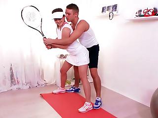 Tennis Teen Fucked