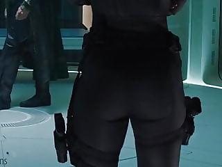 Black Widow Scarlet Johansson Big Ass
