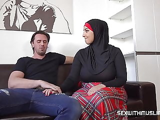Busty muslim Crystal Swift with huge natural tits