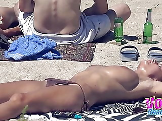Topless Voyeur Amateurs Females Beach Hidden Cam Video
