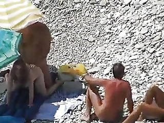 swingers fucking in the beach